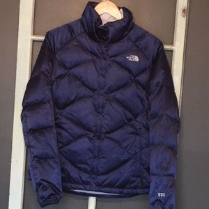 Women's 550 Goose Down North Face puffer coat